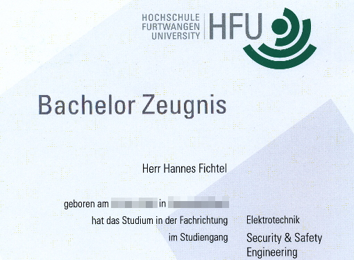 Bachelor & Ingenieur